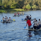 Floßbau events steinau stausee outdoor gruppenangebote